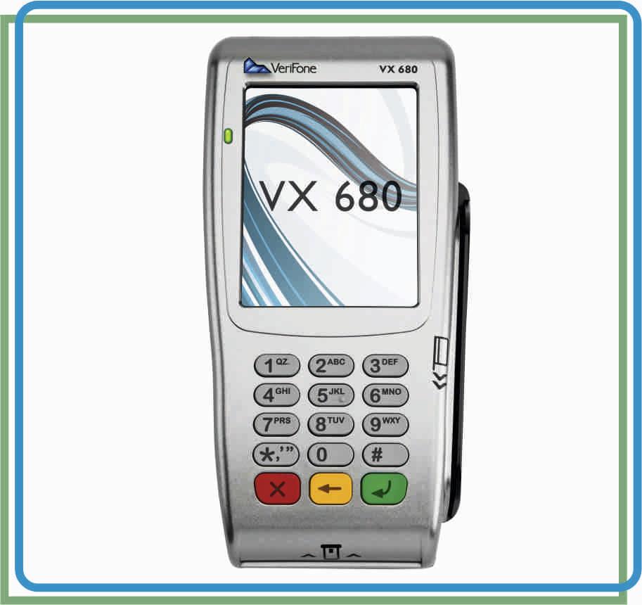 VeriFone VX680 Инструкция кассира